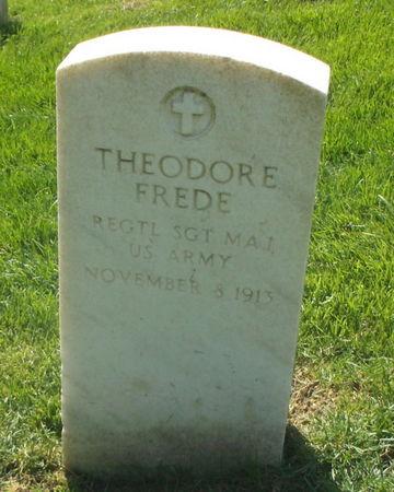 FREDE, THEODORE - Lee County, Iowa   THEODORE FREDE