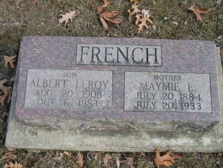 FRENCH, ALBERT & MAYMIE - Lee County, Iowa | ALBERT & MAYMIE FRENCH
