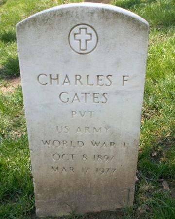 GATES, CHARLES F. - Lee County, Iowa   CHARLES F. GATES