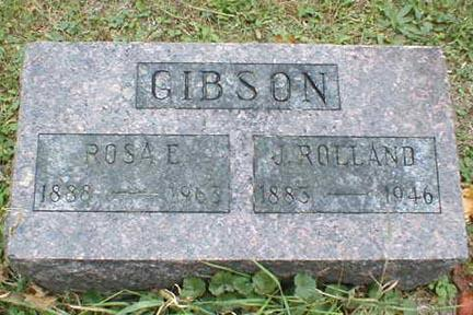 GIBSON, ROSA E. - Lee County, Iowa | ROSA E. GIBSON