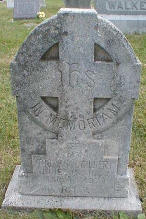 GILBERT, THOMAS H. - Lee County, Iowa   THOMAS H. GILBERT