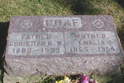 GRAF, CHRISTIAN H.W. - Lee County, Iowa | CHRISTIAN H.W. GRAF