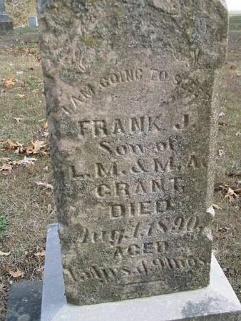 GRANT, FRANK J. - Lee County, Iowa | FRANK J. GRANT