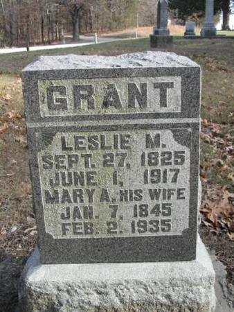 GRANT, LESLIE M.  MARY A. - Lee County, Iowa | LESLIE M.  MARY A. GRANT