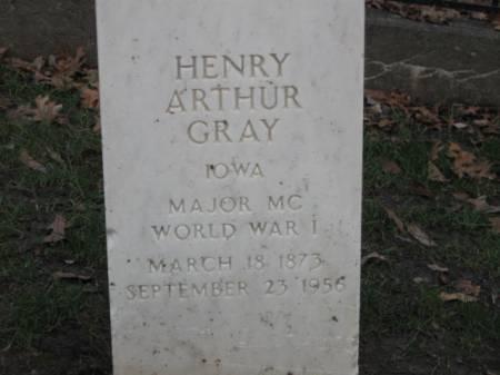 GRAY, HENRY  ARTHUR - Lee County, Iowa | HENRY  ARTHUR GRAY