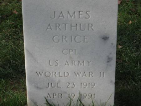 GRICE, JAMES ARTHUR - Lee County, Iowa | JAMES ARTHUR GRICE