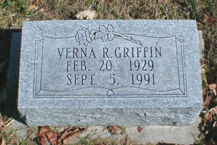 GRIFFIN, VERNA R. - Lee County, Iowa | VERNA R. GRIFFIN