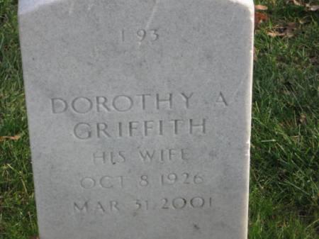GRIFFITH, DOROTHY   A. - Lee County, Iowa   DOROTHY   A. GRIFFITH