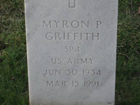 GRIFFITH, MYRON  P. - Lee County, Iowa   MYRON  P. GRIFFITH
