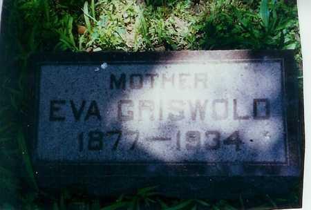 GRISWOLD, GENEVA - Lee County, Iowa   GENEVA GRISWOLD