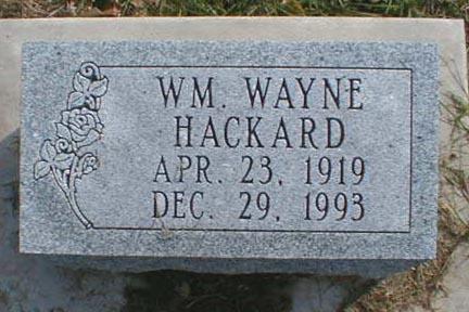 HACKARD, WILLIAM WAYNE - Lee County, Iowa | WILLIAM WAYNE HACKARD