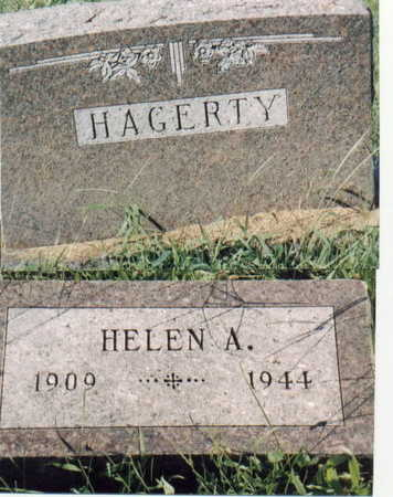 HAGERTY, HELEN A - Lee County, Iowa | HELEN A HAGERTY
