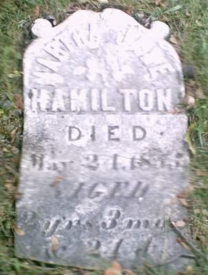 HAMILTON, MARTHA JANE - Lee County, Iowa   MARTHA JANE HAMILTON
