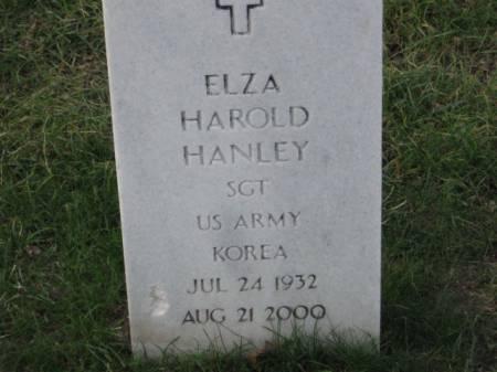 HANLEY, ELZA  HAROLD - Lee County, Iowa   ELZA  HAROLD HANLEY