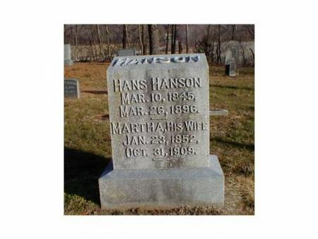 HANSON, HANS, MARTHA - Lee County, Iowa | HANS, MARTHA HANSON