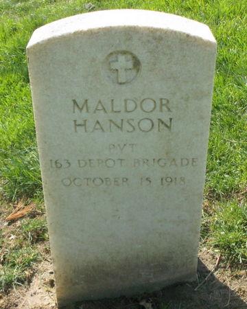 HANSON, MALDOR - Lee County, Iowa | MALDOR HANSON