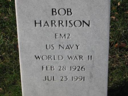 HARRISON, BOB - Lee County, Iowa | BOB HARRISON