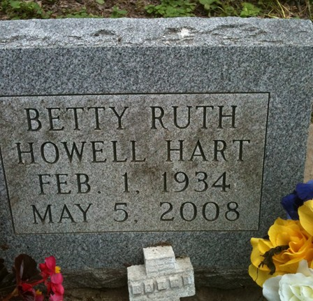 HART, BETTY RUTH - Lee County, Iowa | BETTY RUTH HART
