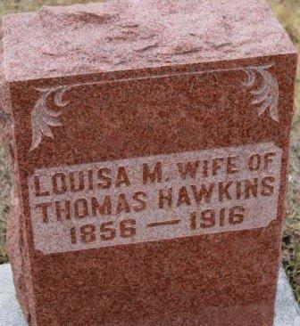 HAWKINS, LOUISA M. - Lee County, Iowa | LOUISA M. HAWKINS
