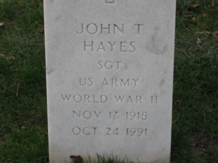 HAYES, JOHN  T. - Lee County, Iowa | JOHN  T. HAYES