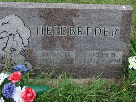 HEIDBREDER, JOHN - Lee County, Iowa | JOHN HEIDBREDER