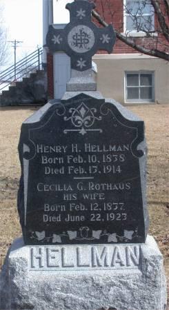 ROTHAUS HELLMAN, CECILLIA G. - Lee County, Iowa | CECILLIA G. ROTHAUS HELLMAN