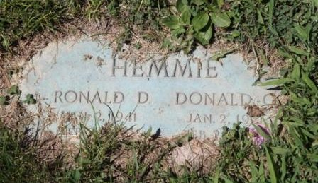 HEMMIE, RONALD D. - Lee County, Iowa | RONALD D. HEMMIE