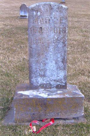 HERRMUTH, MARY E - Lee County, Iowa   MARY E HERRMUTH