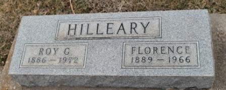 SHUMATE HILLEARY, FLORENCE - Lee County, Iowa   FLORENCE SHUMATE HILLEARY