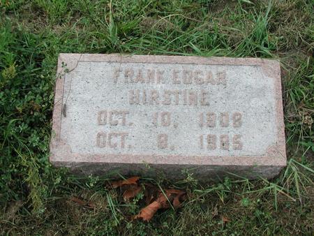 HIRSTINE, FRANK - Lee County, Iowa | FRANK HIRSTINE