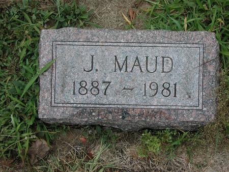 MCCLAIN HIRSTINE, J MAUD - Lee County, Iowa | J MAUD MCCLAIN HIRSTINE