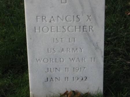 HOELSCHER, FRANCIS   X. - Lee County, Iowa   FRANCIS   X. HOELSCHER