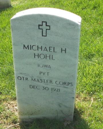 HOHL, MICHAEL H. - Lee County, Iowa   MICHAEL H. HOHL