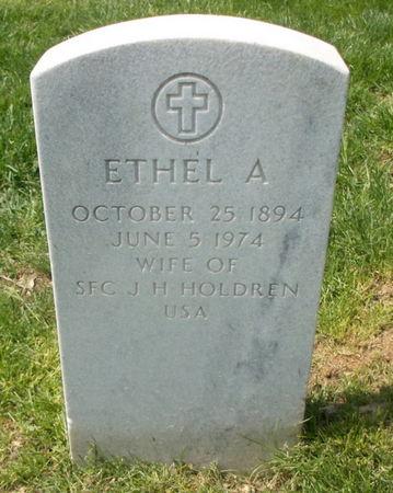 HOLDREN, ETHEL A. - Lee County, Iowa | ETHEL A. HOLDREN