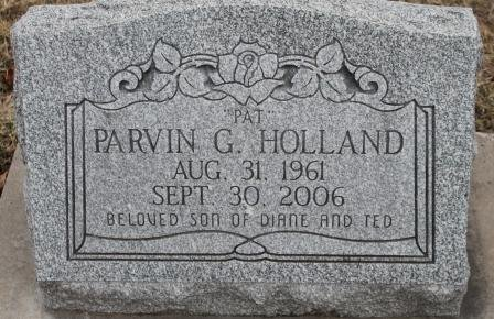 HOLLAND, PARVIN G. - Lee County, Iowa   PARVIN G. HOLLAND