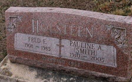 HOLSTEEN, FRED E. - Lee County, Iowa | FRED E. HOLSTEEN