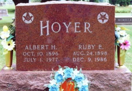 HOYER, RUBY E. - Lee County, Iowa | RUBY E. HOYER