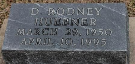 HUEBNER, D. RODNEY - Lee County, Iowa   D. RODNEY HUEBNER