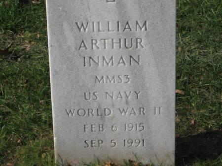 INMAN, WILLIAM ARTHUR - Lee County, Iowa | WILLIAM ARTHUR INMAN