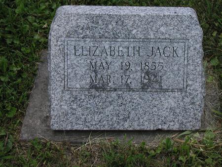 JACK, ELIZABETH - Lee County, Iowa | ELIZABETH JACK