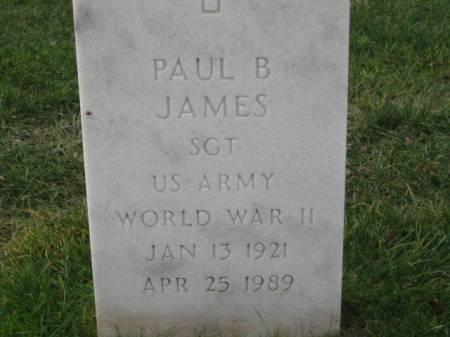 JAMES, PAUL   B. - Lee County, Iowa | PAUL   B. JAMES