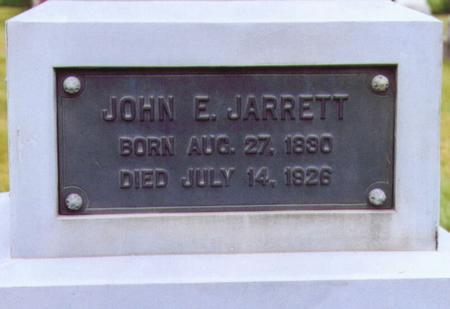JARRETT, JOHN E. - Lee County, Iowa | JOHN E. JARRETT