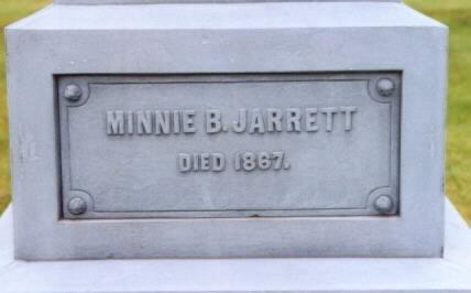 JARRETT, MINNIE BELL - Lee County, Iowa   MINNIE BELL JARRETT