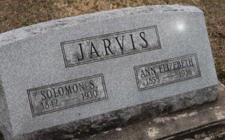 JARVIS, ANN ELIZABETH - Lee County, Iowa | ANN ELIZABETH JARVIS