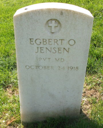 JENSEN, EGBERT O - Lee County, Iowa   EGBERT O JENSEN