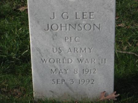 JOHNSON, J.G.   LEE - Lee County, Iowa   J.G.   LEE JOHNSON