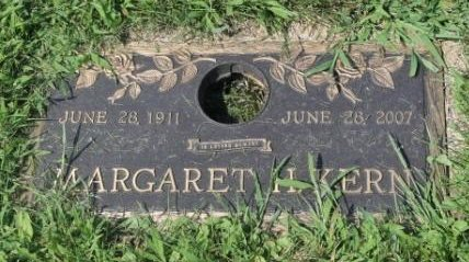 KERN, MARGARET H. - Lee County, Iowa | MARGARET H. KERN