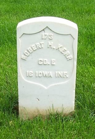 KERR, ROBERT H - Lee County, Iowa | ROBERT H KERR