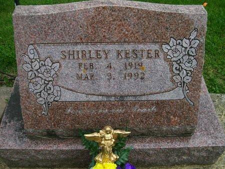 KESTER, SHIRLEY - Lee County, Iowa   SHIRLEY KESTER