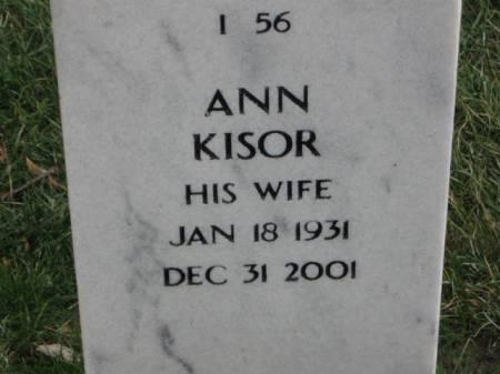 KISOR, ANN - Lee County, Iowa | ANN KISOR